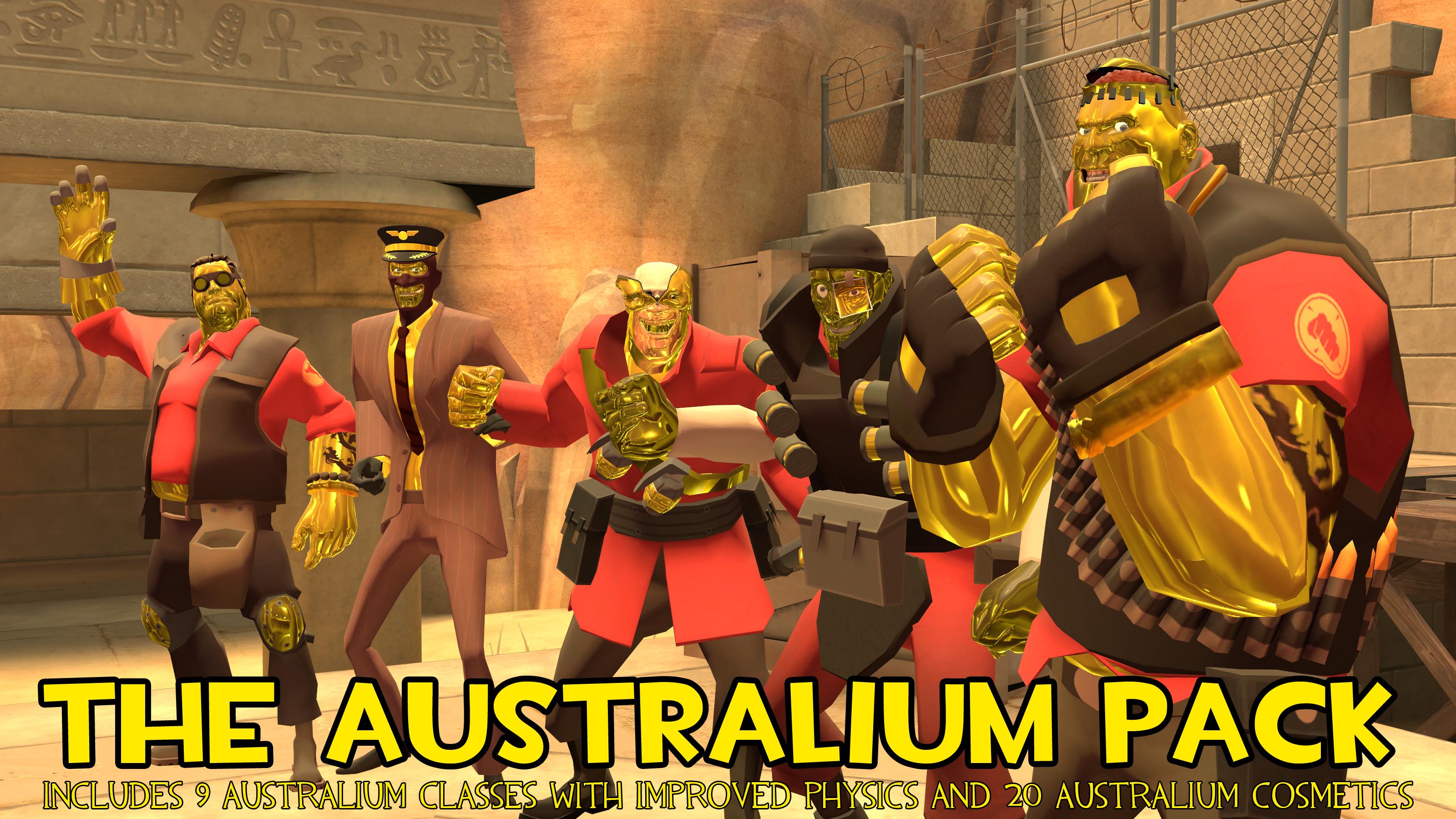 DL] The Australium Hex Pack by TIShadster on DeviantArt