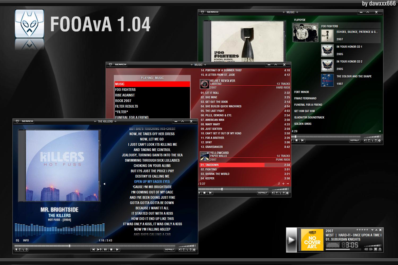 FOOAvA 1.04 by dawxxx666
