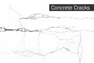 Concrete Cracks Brush Set