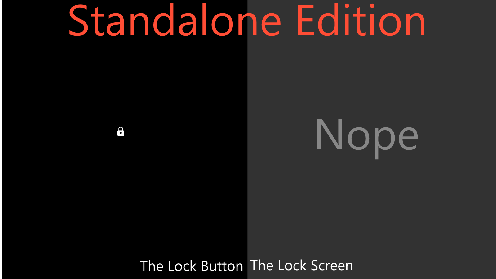 Samsung Themes Prevents Multiple Lock Screen Wallpaper: Black Lock Screen, Standalone Edition By