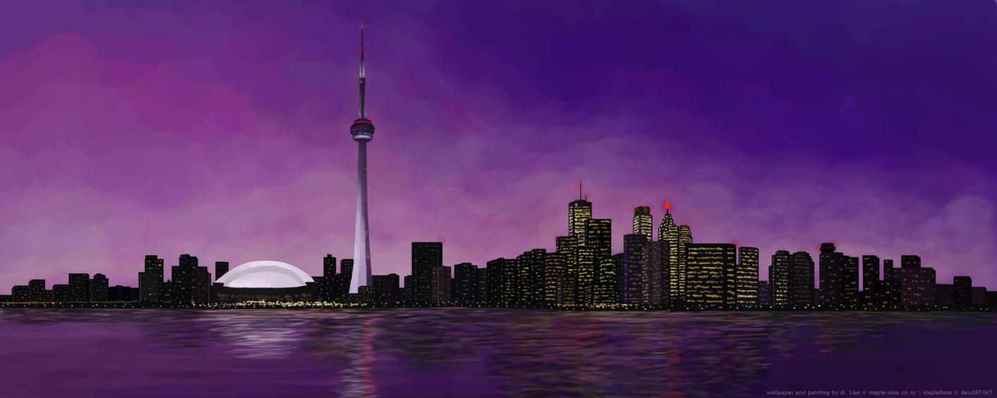 City Nightlife by MapleRose