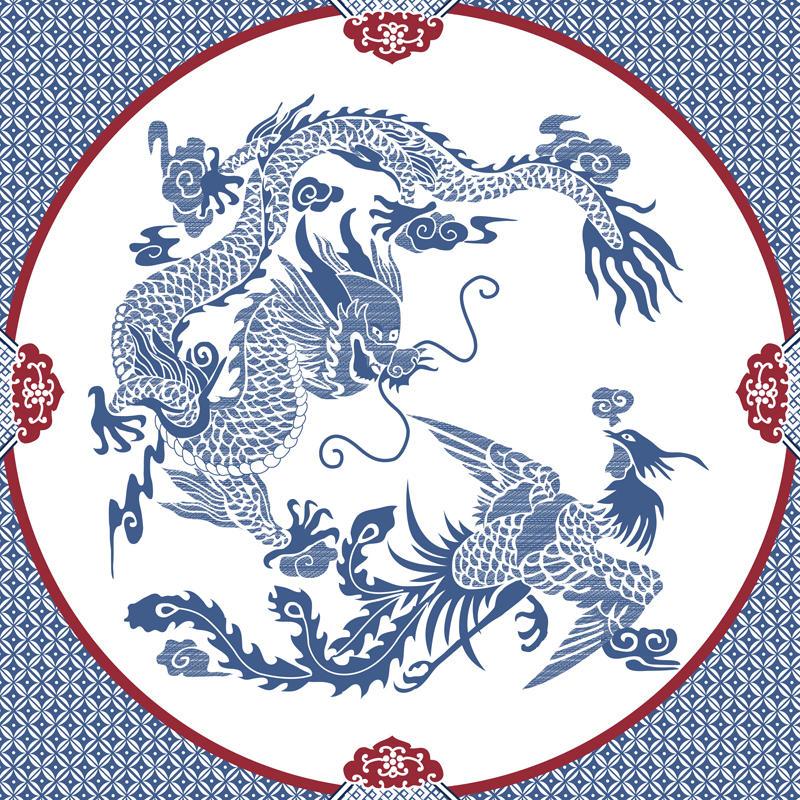 Dragon and Phoenix Mandala by anekidesu on DeviantArt