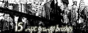 NYC Grunge Pack 1 by peteandbob