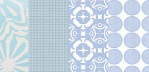 Blue Pattern Pack 1. by peteandbob
