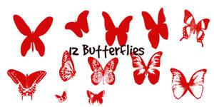 Butterflies Shapes