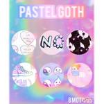 Pastel Goth Patterns