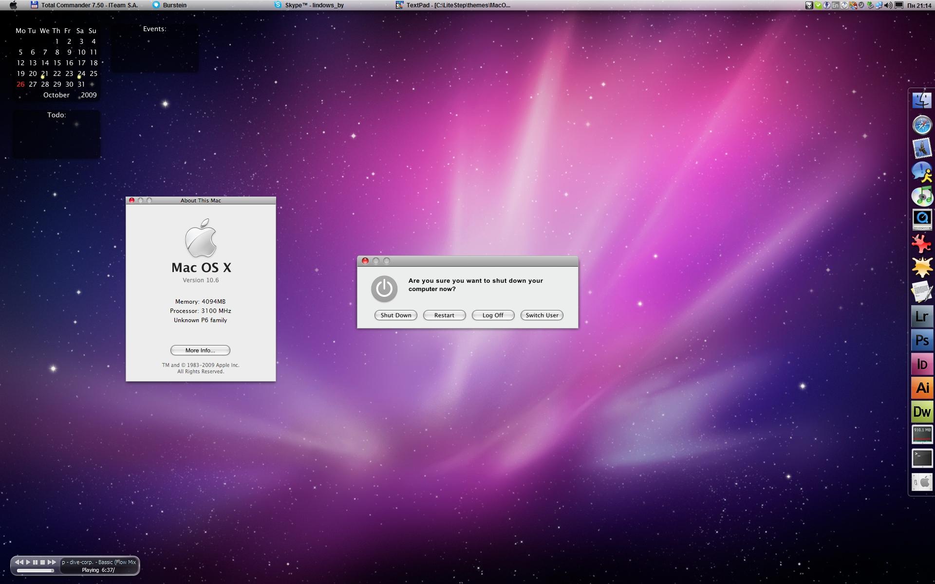 Mac OS X Installer x86-x64