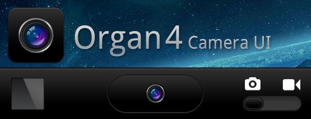 Organ 4 Camera UI
