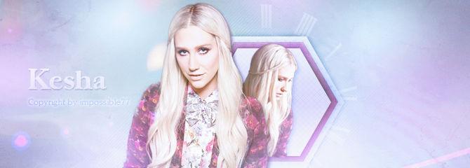 Hey Kesha Cover PSD!