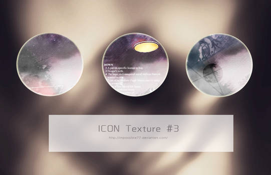 ICON Texture #3 In Darkness
