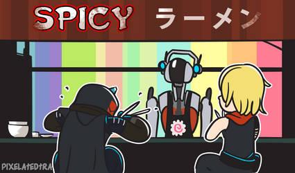Spicy Ramen Shop by pixelatedtraveler