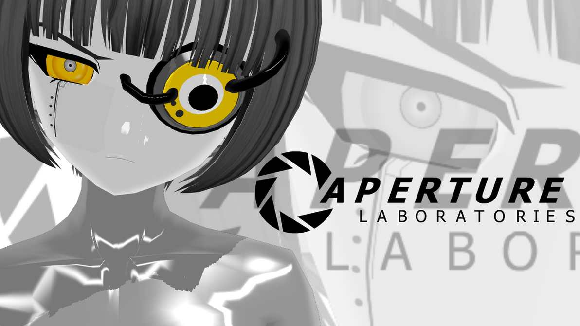 GLaDOS - Want you Gone - MMD Lip Sync Data by Peptos