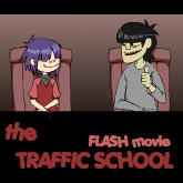 Gorillaz - the Traffic Scool by KinpatsuYasha