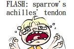 Sparrow's Achilles' Tendon