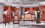 Gothic Revival furniture png
