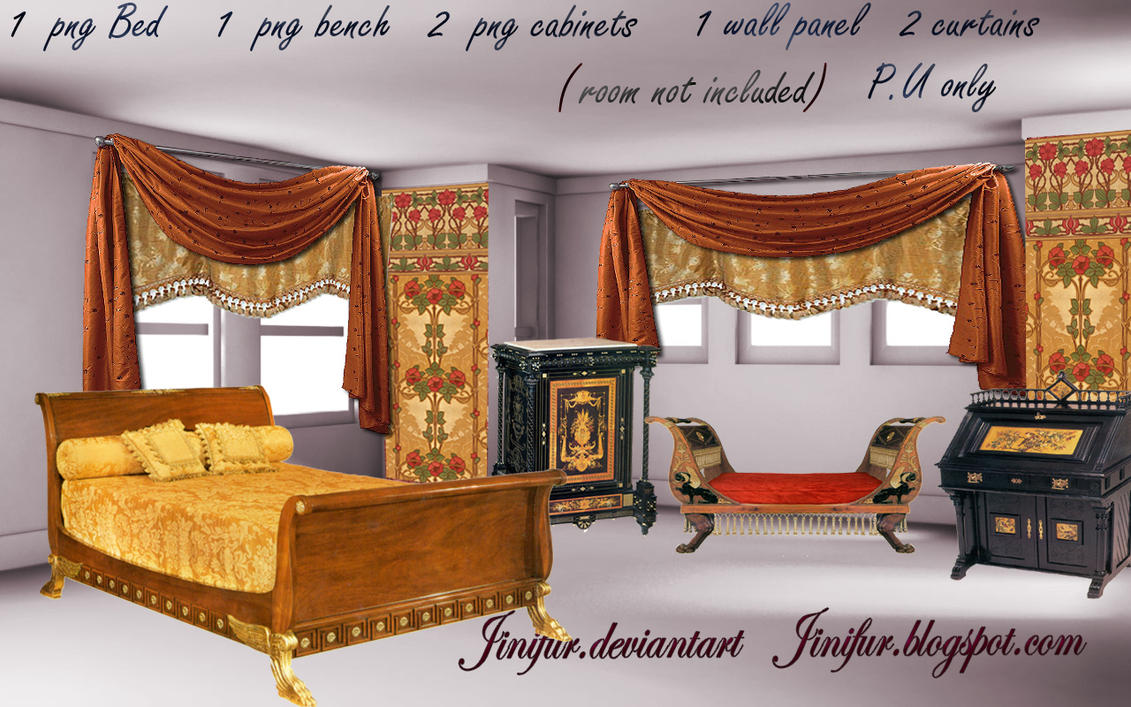 Charming Egyptian Revival Furniture Png By Jinifur ...