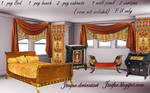 Egyptian Revival furniture png
