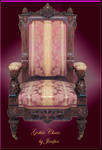 Gothic pink chair