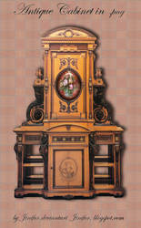 Antique Cabinet in png