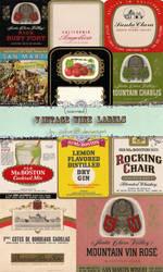 jinifur Vintage Labels