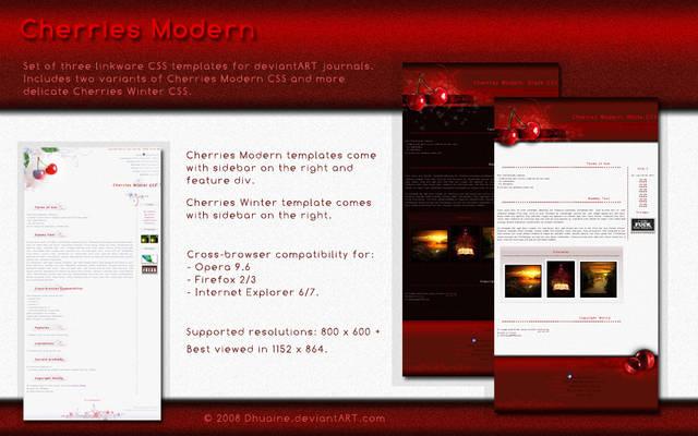 Cherries Modern CSS