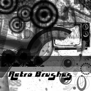 Retro Brushes by skullsXroses