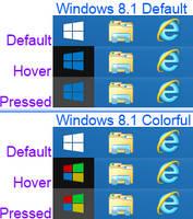 Windows 8.1 start orb