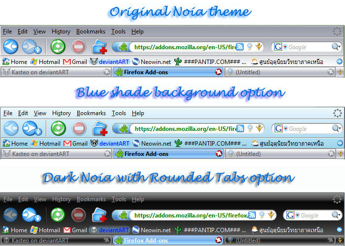 Noia 2.0 eXtreme For Firefox