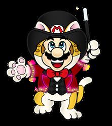 It's a Super Cat Mario Extravaganza
