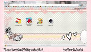 Theme Heart Cam Pink For Google Chrome