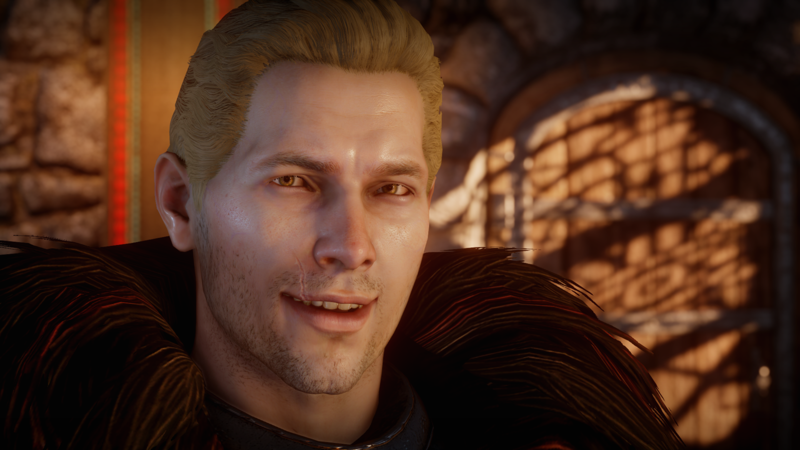 Yes Virginia you can flirt with Varric dragon age LiveJournal