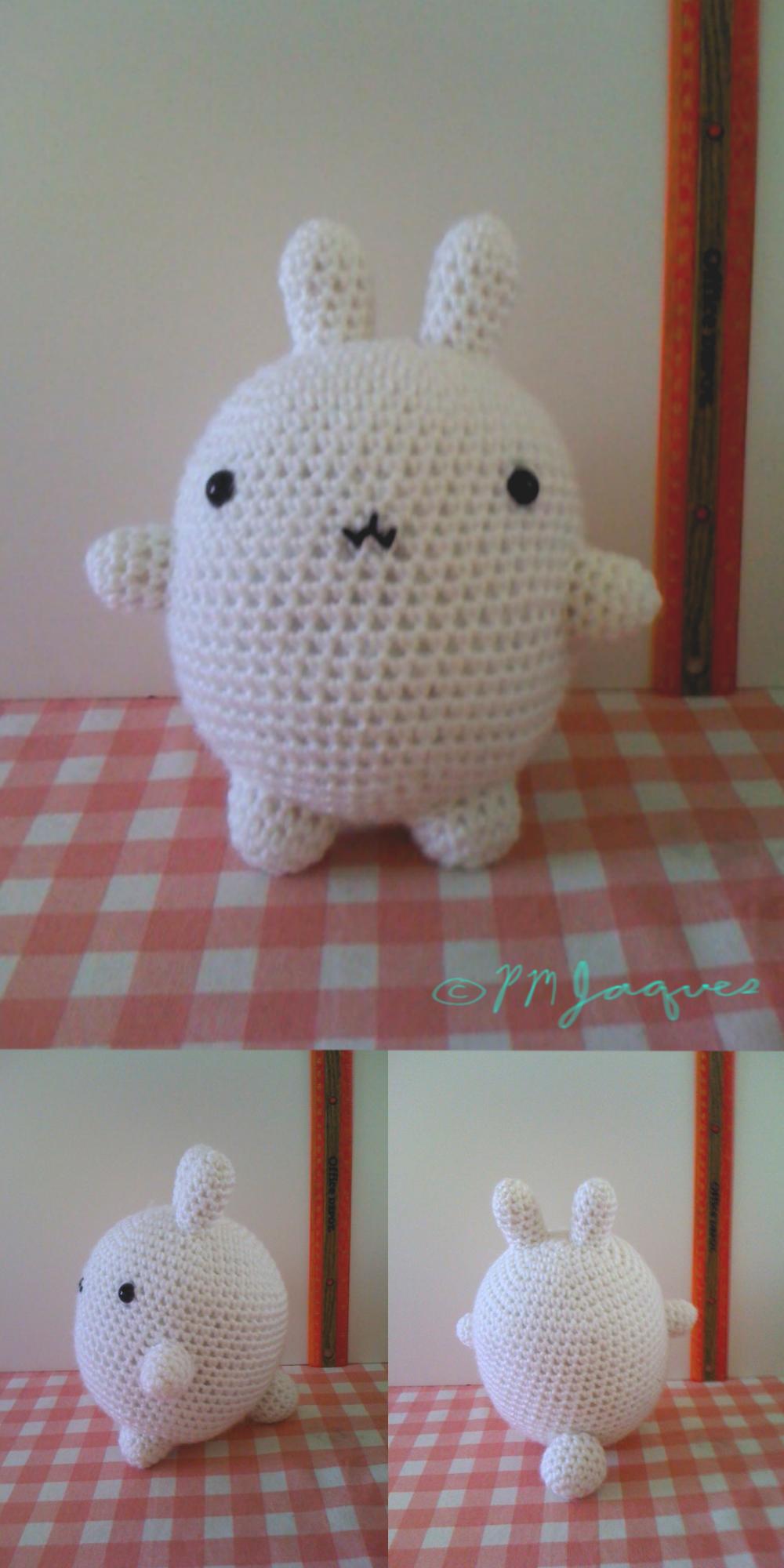 LiteVirkning -Crochet Molang and PiuPiu. Virkad Molang och Piupiu ... | 2000x1000