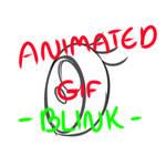 ANIMATED GIF  BLINK TEST