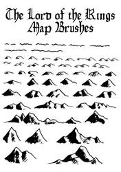 LotR Map Brushes by Orboroth