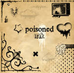 Poisoned ink brushes