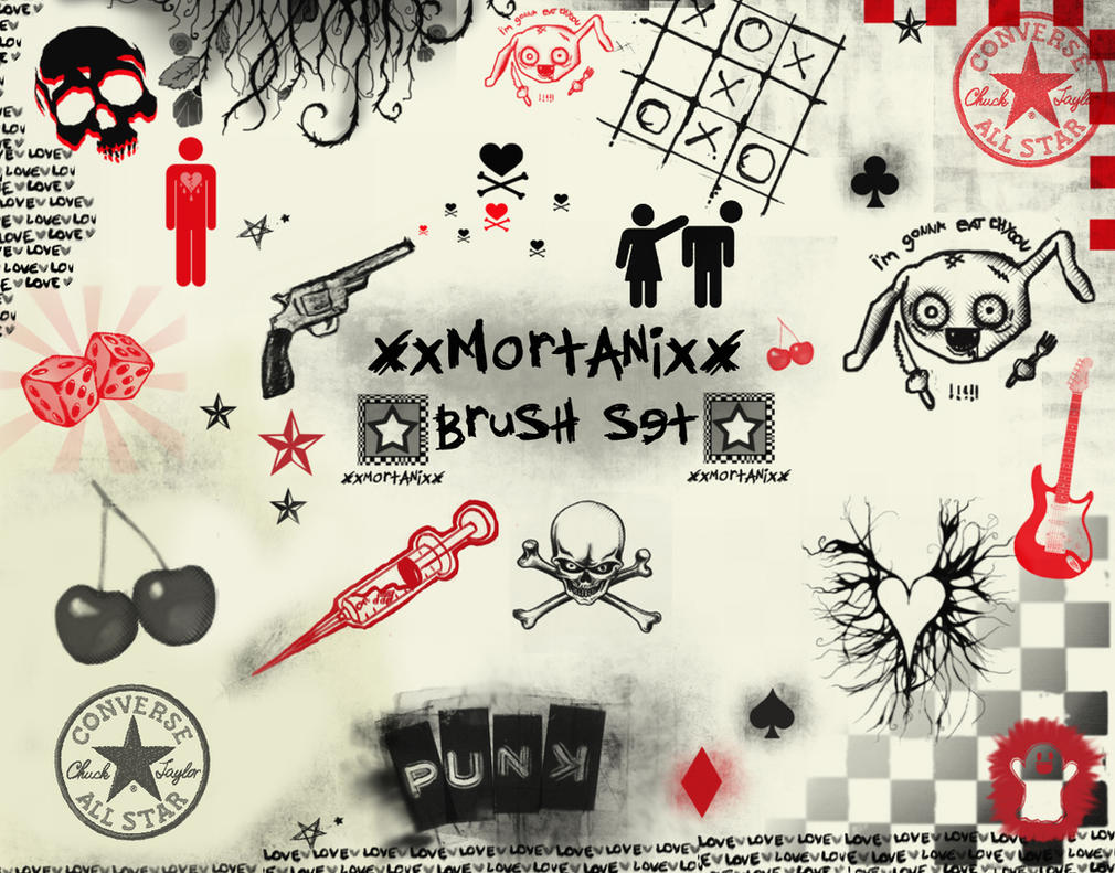 cool brushes by XxMortanixX