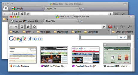 GTK Leopard Chrome Theme