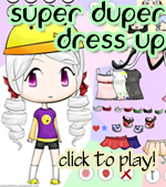 Super Duper Dress Up Game by sworndestiny