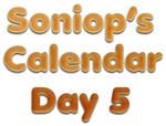 Advent calendar - Day 5