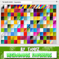 .Degradados favoritos by Briixday