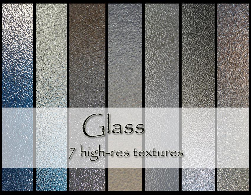 Glass texture pack by dbstrtz