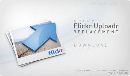 Flickr Uploadr Replacement by RuizDesign