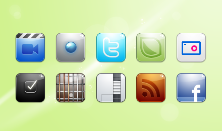CMT iPhone icons Vol.2 by RuizDesign
