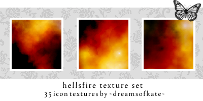 hellfires icontextures by dreamsofkate