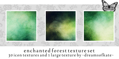 enchanted forest icon textures by dreamsofkate