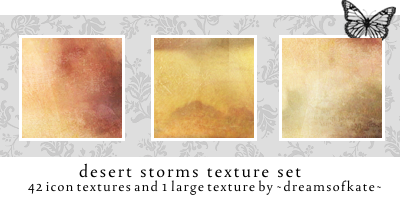 Desert Storms icon textures by dreamsofkate