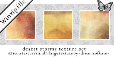 Zip file - Desert Storms icons by dreamsofkate
