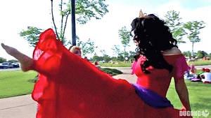 Esmeralda and Aurora Dance (GIF)