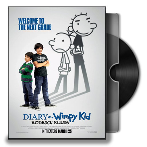 Diary Of A Wimpy Kid Rodrick Rules Folder Icon By Smly99 On Deviantart