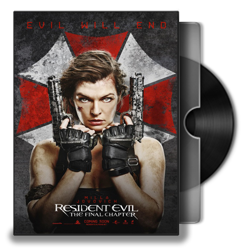 Resident Evil The Final Chapter Folder Icon By Smly99 On Deviantart